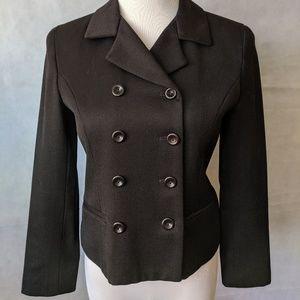 Geoffrey Beene Black Fitted Jacket